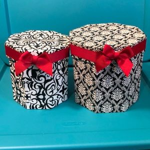 William Morris Style Patterned Small Storage Boxes